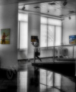 Sala de exposiciones de Nahariya.